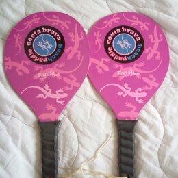 Ракетки - Деревянные ракетки для пляжного тенниса, 0