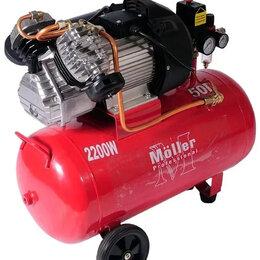 Воздушные компрессоры - Компрессор воздушный Moller АС 360/50 , 0