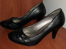 Туфли - Туфли с декоративными пряжками черные новые…, 0