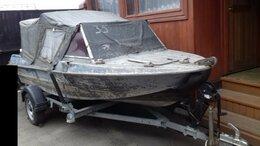 Моторные лодки и катера - Лодка Крым+Меркури 40  4х тактный. , 0