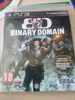 "Игры для приставок и ПК - Игра на PS3 ""BINARY DOMAIN LIMITED EDITION"", 0"