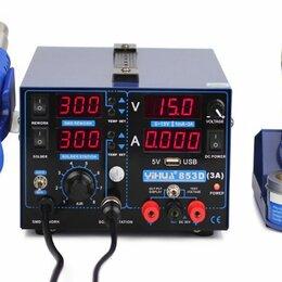 Газовые горелки, паяльные лампы и паяльники - Паяльная станция  YIHUA 853D 3A USB, 0