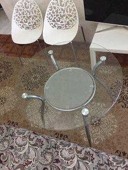 Столы и столики - Стол стеклянный круглый, 0
