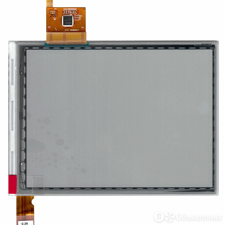 "Экран для электронной книги e-ink 6"" PVI ED060SCM(LF)T1 (800x600) +touch... по цене 5220₽ - Запчасти и аксессуары для планшетов, фото 0"