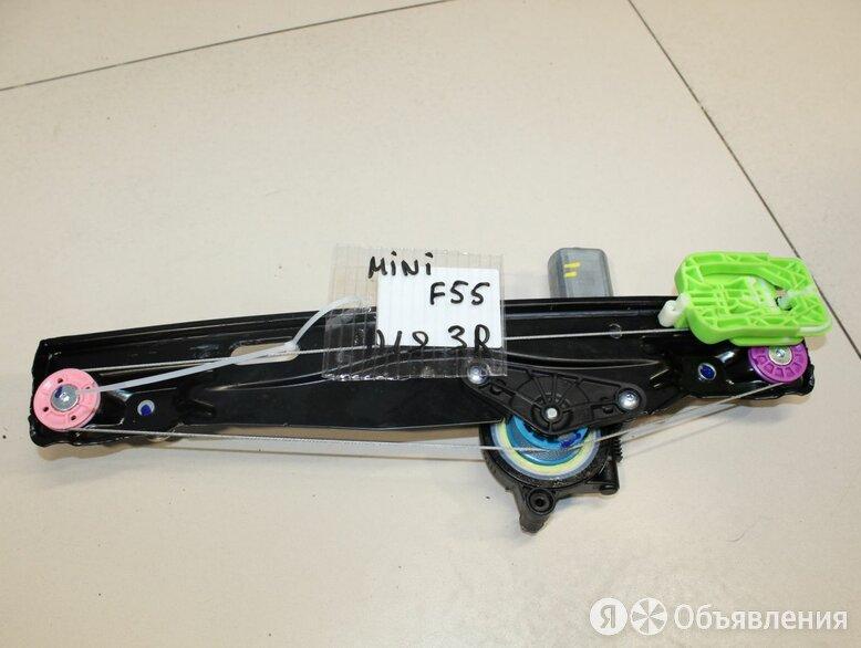Стеклоподъемник задний правый Mini F55 2014- по цене 6500₽ - Кузовные запчасти, фото 0