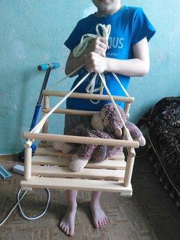 Качели - Качели детские деревянные, 0