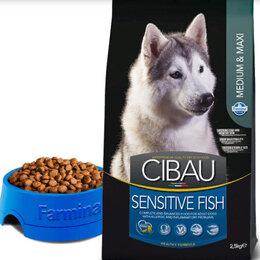 Корма  - CIBAU SENSITIVE FISH,  SENSITIVE LAMB, 0