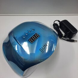 Лампы для сушки - Лампа для маникюра голубой перламутр 54ВАТТ, 0