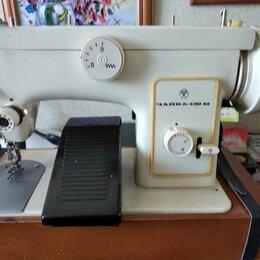 Швейные машины - Швейная машинка «Чайка» с электроприводом, 0