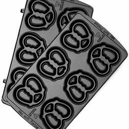 """Сэндвичницы и приборы для выпечки - Панель """"Крендель малый"""" для мультипекаря Redmond RAMB-08, 0"""