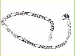 Браслеты - ФИГАРО браслет 21*0,35см серебро 925 5,59гр.…, 0