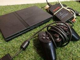 Игровые приставки - Приставка Консоль Плойка Ps2 + Геймпад и Провода, 0
