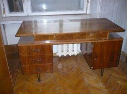 Компьютерные и письменные столы - Стол письменный Ш*Г*В 130*60*74,5, 0