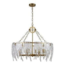 Люстры и потолочные светильники - Люстра подвесная латунная золотая Lollipop 2764-8P, 0