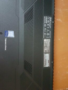 Ноутбуки - Ноутбук Asus TUF Gaming FX504GD модернизирован, 0