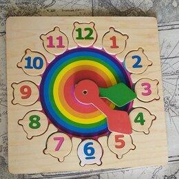 Развивающие игрушки - Развивающая игрушка - часы, 0