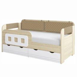 Кровати - Кровать-Тахта Стиль.Кофе (800.4) + Съемный…, 0