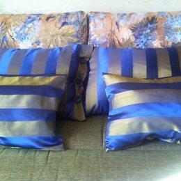 Декоративные подушки - Декоративные наволочки с подушками для дивана., 0