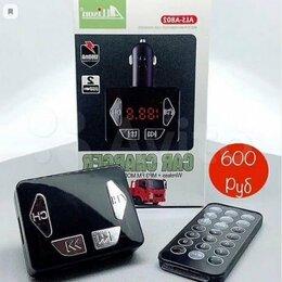 Усилители и ресиверы - Автомобильный FM-модулятор Bluetooth Allison A802, 0