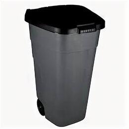 Мусорные ведра и баки - Контейнер для мусора с крышкой на 120 л, 0
