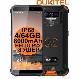 Мобильные телефоны - НОВЫЕ Oukitel WP5 Pro Orange IP68 4/64GB 8000mAh 8ядер, 0