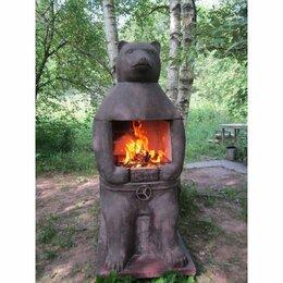 Грили, мангалы, коптильни - Печь барбекю №23 Медведь, 0