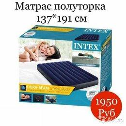 Надувная мебель - Надувной матрас Classic Downy 137*191*25 см, 0