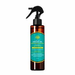 Маски и сыворотки - Спрей для укладки волос с аргановым маслом EVAS Char Char Argan Oil Super Ha..., 0