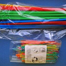 Одноразовая посуда - Коктейльные трубочки и вилочки канапе, 0