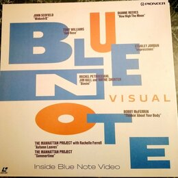 Музыкальные CD и аудиокассеты - LD – Jazz – VA: Blue Note Visual – 1991 – Blue Note / Pioneer – Japan - NM , 0