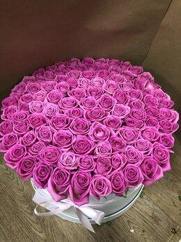 Цветы, букеты, композиции - 101 Роза в коробке , 0