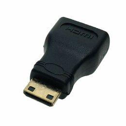 Компьютерные кабели, разъемы, переходники - Переходник mini hdmi - hdmi, 0