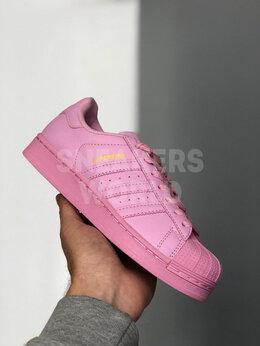 Кроссовки и кеды - Adidas Superstar розовые, 0