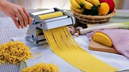 Пельменницы, машинки для пасты и равиоли - Лапшерезка тесто раскатка ручная Zeidan Z-1167…, 0