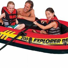 Надувные, разборные и гребные суда - Надувная двухместная лодка EXPLORER 200 SET, 0