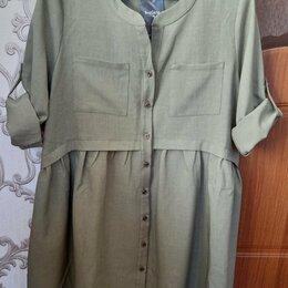 Платья - Платье свободного кроя можно для беременных р. 48-50, 0