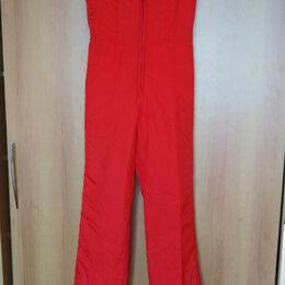 Комбинезоны - Лыжные брюки / полукомбинезон, р 44-46, Швеция, 0