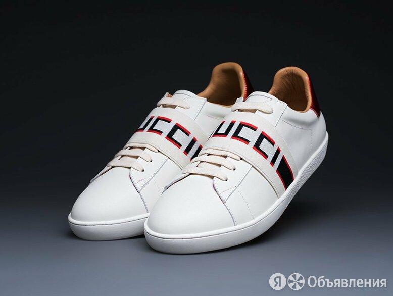 Кроссовки Gucci Stripe Leather по цене 3520₽ - Кроссовки и кеды, фото 0