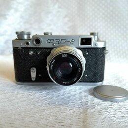 Пленочные фотоаппараты - Фотоаппарат ФЭД-2 с родным футляром, 0