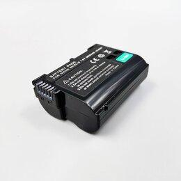 Аккумуляторы и зарядные устройства - Аккумуляторная батарея для фотокамеры Nikon ENEL15 аналог, 0
