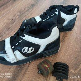 Кроссовки и кеды - Кроссовки на колесиках Heelys. Стелька 24см. размер 36-37 колесики съемные, 0