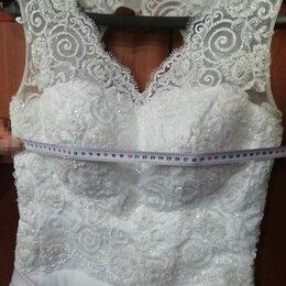 Платья - Шнуровка свадебного платья с кружевом, 0