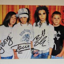 Вещи знаменитостей и автографы - Автографы Tokio Hotel , 0