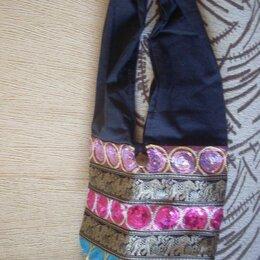 Сумки - Сумка из ткани с пайетками через плечо с Тайланда, 0
