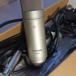 Микрофоны - Профессиональный Микрофон Tascam TM-80. Доставка, 0