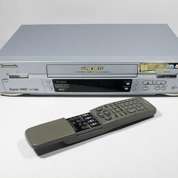 Видеомагнитофоны - Видеомагнитофон S-VHS (ET) Panasonic NV-HS820EE-U, 0