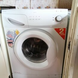 Стиральные машины - стиральная  машина б\у  рабочая  узкая, 0
