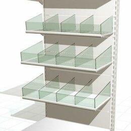 Стеллажи и этажерки - Стеллаж торговый металлический, 0
