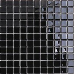 Мозаика - Мозаика Tessare 30,5х30,5х0,4см стекло черный шт(HJM03), 0