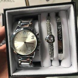 Наручные часы - Женский набор часов серебренные, 0